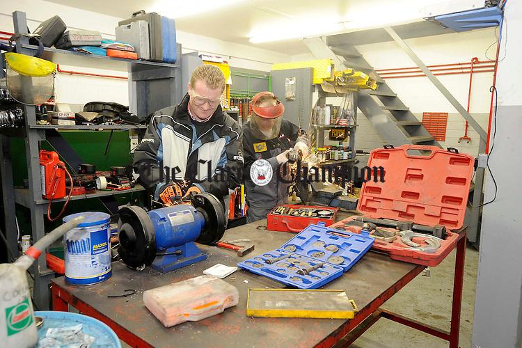 SAM Motors workshop.Pic Arthur Ellis.