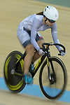 Diao Xian Juan of the IND competes in the Women Elite - Pointe Race 20km Final category during the  Hong Kong Track Cycling National Championships 2017 at the Hong Kong Velodrome on 18 March 2017 in Hong Kong, China. Photo by Chris Wong / Power Sport Images