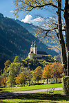 Austria, Styria, Radmer an der Stube: with pilgrimage church Saint Anthony of Padua | Oesterreich, Steiermark, Radmer an der Stube: mit Wallfahrtskirche zum heiligen Antonius von Padua
