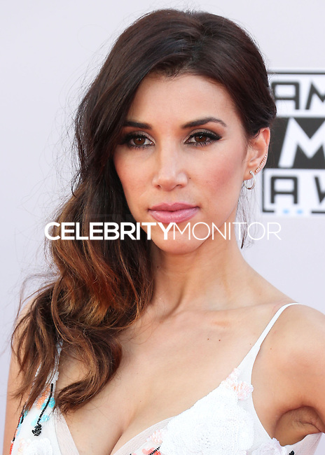 LOS ANGELES, CA, USA - NOVEMBER 23: Adrianna Costa arrives at the 2014 American Music Awards held at Nokia Theatre L.A. Live on November 23, 2014 in Los Angeles, California, United States. (Photo by Xavier Collin/Celebrity Monitor)