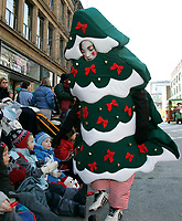 Montreal (Qc) CANADA - November 12, 2005  file photo- <br /> <br /> Santa Claus parade take place without snow due to global warming, on ste-Catherine street in downtown Montreal.<br /> <br /> Photo (c)  Images Distribution