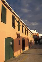 Bermuda, St. George's Parish, Long House Gallery in St George in Bermuda.