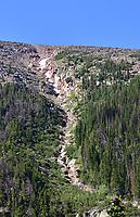 Mountain gully