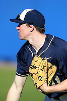 Pittsburgh Panthers Casey Roche #41 during a game vs. the Central Michigan Chippewas at Chain of Lakes Park in Winter Haven, Florida;  March 11, 2011.  Pittsburgh defeated Central Michigan 19-2.  Photo By Mike Janes/Four Seam Images
