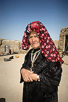 A midwife from the village of Baybogha.