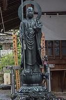 Buddha statue at Araiyakushi Baishoin temple near Araiyakushimae station on seibu Shinjuku line in Nakano, Tokyo