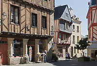 Europe/France/Bretagne/56/Morbihan/ Golfe du Morbihan/Vannes: Vieux logis -Place Valencia