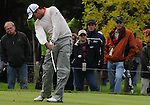 4 October 2008: Jason Day hits a tees shot during the third round at the Turning Stone Golf Championship in Verona, New York.