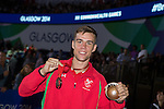 Glasgow 2014 Commonwealth Games<br /> <br /> Nathan Thorley with his Commonwealth Bronze medal.<br /> <br /> 02.08.14<br /> ©Steve Pope-SPORTINGWALES