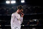 Gareth Bale of Real Madrid during La Liga match between Real Madrid and RC Celta de Vigo at Santiago Bernabeu Stadium in Madrid, Spain. February 16, 2020. (ALTERPHOTOS/A. Perez Meca)