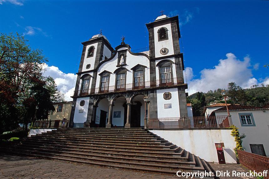 Portugal, Madeira, Kirche Nossa Senhora do Monte in Monte