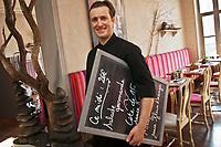 Europe/France/Rhône-Alpes/38/Isére/Grenoble: Stéphane Froidevaux chef du restaurant: Le Fantin Latour [Non destiné à un usage publicitaire - Not intended for an advertising use]
