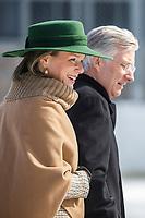 Visite officielle du Roi et de la Reine de Belgique au Canada<br />  en Mars 2018 <br /> <br /> <br /> PHOTO : Agence Quebec Presse <br /> <br /> <br /> <br /> <br /> <br /> <br /> <br /> PHOTO :   Agence Quebec Presse