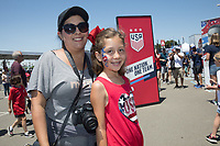 Santa Clara, CA - Sunday May 12, 2019: The Fan HQ before the women's national teams of the United States (USA) and South Africa (RSA) play in an international friendly match at Levi's Stadium.