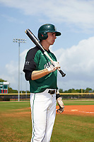 Dartmouth Big Green center fielder Trevor Johnson (36) before a game against the Southern Maine Huskies on March 23, 2017 at Lake Myrtle Park in Auburndale, Florida.  Dartmouth defeated Southern Maine 9-1.  (Mike Janes/Four Seam Images)
