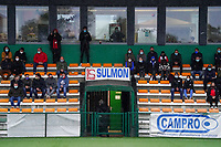 Spectators pictured during a female soccer game between the women teams of Zulte Waregem A Dames and KRC Genk Ladies B on the 1/16 th qualifying round for the Belgian Womens Cup 2020  2021 , on saturday 26 th of September 2020  in Zulte , Belgium . PHOTO SPORTPIX.BE | SPP | SEVIL OKTEM