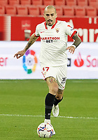 Sevilla FC' Aleix Vidal during La Liga match. February 6,2021. (ALTERPHOTOS/Acero)<br /> Liga Spagna 2020/2021 <br /> Sevilla FC Vs Getafe <br /> Photo Acero/Alterphotos / Insidefoto <br /> ITALY ONLY