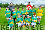 The Knocknagoshel U12 team taking part in the Simon Keane Memorial Blitz in Knocknagoshel on Sunday.