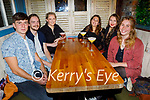 Enjoying the evening in Benners on Friday, l to r: Sean Broderick (Currow), Matthew Hosking, Shona O'Connor, Thalie Konstantinidis, Breffnie O'Rourke and Zoe Adons.