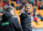 St Johnstone v Partick Thistle…19.08.17… McDiarmid Park… SPFL<br />Alan Archibald has words with 4th offcial Craig Napier<br />Picture by Graeme Hart.<br />Copyright Perthshire Picture Agency<br />Tel: 01738 623350  Mobile: 07990 594431