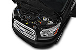 Car Stock 2016 Ford Transit 350-XLT-Wagon-High-Roof-Pass-Slide-148WB 4 Door Passenger Van Engine  high angle detail view