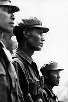 The last of the Khmer Rouge are re-integrated into the government army at the former guerrilla base of Anlong Veng.