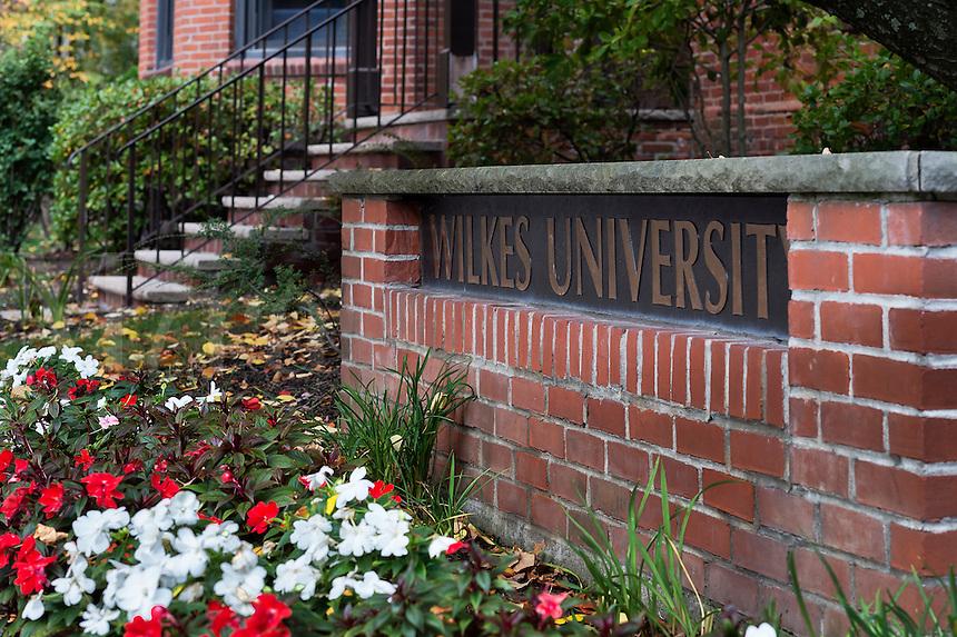 Wilkes University campus, Wilkes Barre, Pennsylvania, USA