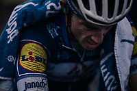 Julian Alaphilippe (FRA/Quick-Step Floors) post-finish<br /> <br /> 76th Paris-Nice 2018<br /> Stage 7: Nice > Valdeblore La Colmiane (175km)