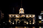 Custom House At Night.  Built In 1914, Guangzhou (Canton).