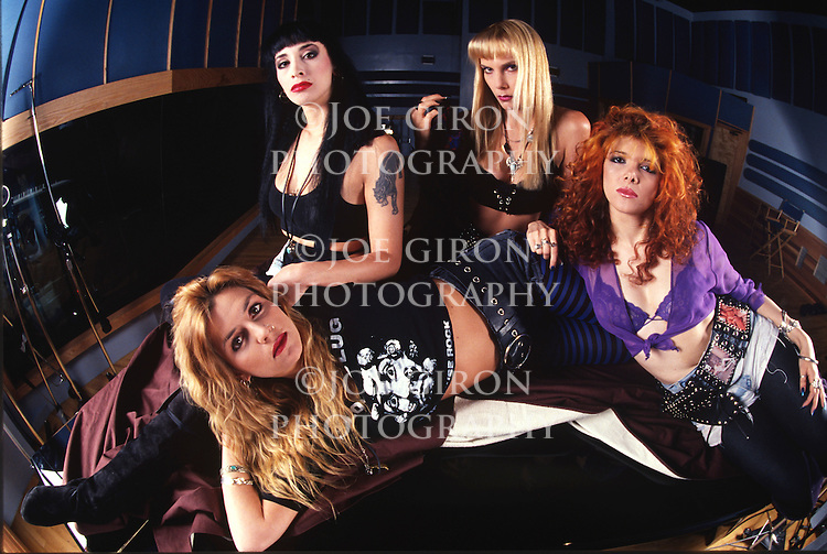 Various portrait sessions of the rock band, Cycle Sluts from Hell.