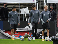 Mahmoud Dahoud (Deutschland Germany), Kai Havertz (Deutschland, Germany), Julian Brandt (Deutschland Germany) <br /> - 05.10.2020: Training der Deutschen Nationalmannschaft, Suedstadion Koeln<br /> DISCLAIMER: DFB regulations prohibit any use of photographs as image sequences and/or quasi-video.