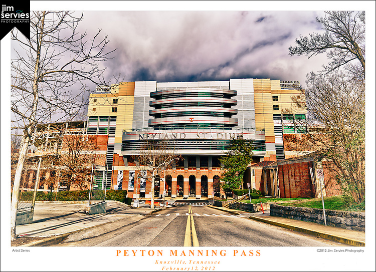 Peyton Manning Pass   Knoxville Tennessee   February 2012
