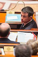 MANUEL VALLS - ASSEMBLEE NATIONALE - SEANCE DE QUESTIONS AU GOUVERNEMENT