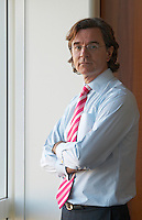 Jose Luis Duran, one time managing director of Carrefour in his then office paris france