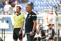 Trainer Uwe Neuhaus (Arminia Bielefeld)<br /> - 19.09.2020: Fussball  Bundesliga, Saison 20/21, Spieltag 1, Eintracht Frankfurt vs. Arminia Bielfeld, emonline, emspor, v.l. Deutsche Bank Park<br /> Foto: Marc Schueler/Sportpics.de <br /> Nur für journalistische Zwecke. Only for editorial use. (DFL/DFB REGULATIONS PROHIBIT ANY USE OF PHOTOGRAPHS as IMAGE SEQUENCES and/or QUASI-VIDEO)