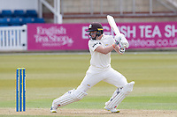 Ollie Pope of Surrey CCC drives backwards behind point during Surrey CCC vs Hampshire CCC, LV Insurance County Championship Group 2 Cricket at the Kia Oval on 30th April 2021