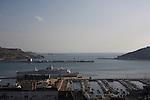 Vista del Puerto de Cartagena.
