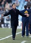 Getafe's coach Luis Garcia during La Liga Match. February 18, 2012. (ALTERPHOTOS/Alvaro Hernandez)