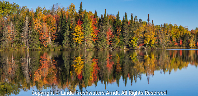 Day Lake in the Chequamegon National Forest.