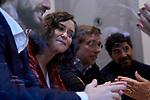 Isabel Diaz Ayuso (president of the Community of Madrid) during the Partido Popular leader Pablo Casado voting in Madrid at Nuestra Senora del Pilar school in Madrid, Spain. November 10, 2019. November 10, 2019. (ALTERPHOTOS/A. Perez Meca)