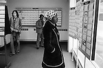 Unemployment Job Centre Labour Exchange South London. 1970s UK. On the dole black British African woman looking for work, multi ethnic Britain 1976  England.