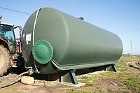 26-3-2021 Liquid nitrogen storage tank<br /> ©Tim Scrivener Photographer 07850 303986<br />      ....Covering Agriculture In The UK....