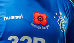 11.11.2018 Rangers v Motherwell: Rangers remembrance shirt