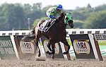 June 8, 2012. Redeemed, Ramon Dominguez up, wins the 124th running of the Gr II Brooklyn Handicap at Belmont Park in Elmont, New York. ©Joan Fairman Kanes/Eclipsesportswire