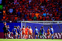 but de Stephanie Van Der Gragt (Pays Bas) <br /> Valenciennes 29-06-2019 <br /> Football Womens World Cup <br /> Italia - Olanda <br /> Photo JB Autissier/ Panoramic/Insidefoto <br /> ITALY ONLY