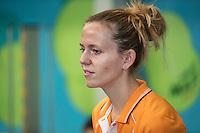 Almere, Netherlands, 24 september 2016, Kickoff Jong Oranje, Fysio Annelies Geel <br /> Photo: Tennisimages.com/Henk Koster