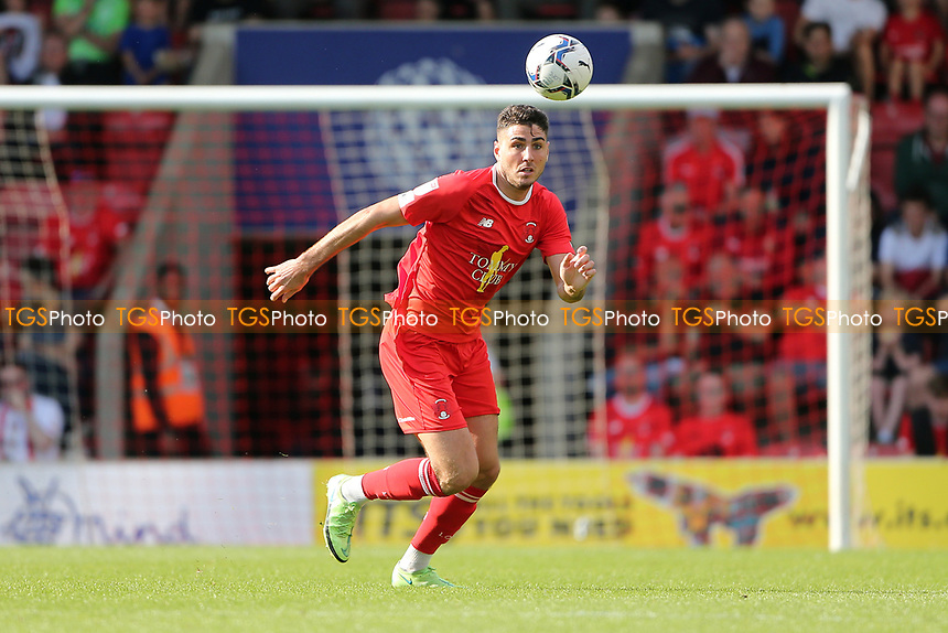 Dan Happe of Leyton Orient during Leyton Orient vs Oldham Athletic, Sky Bet EFL League 2 Football at The Breyer Group Stadium on 11th September 2021