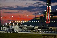 Dawn, Rolex 24 at Daytona, Daytona International Speedway, Daytona Beach, FL, January 2014.  (Photo by Brian Cleary/www.bcpix.com)