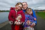 Enjoying a stroll in the Tralee Bay Wetlands on Saturday, l to r: Tommy, Robin and Charlotte Higgins