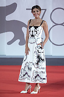 Serena Rossi attending The Last Duel Premiere as part of the 78th Venice International Film Festival in Venice, Italy on September 10, 2021. <br /> CAP/MPIIS<br /> ©MPIIS/Capital Pictures